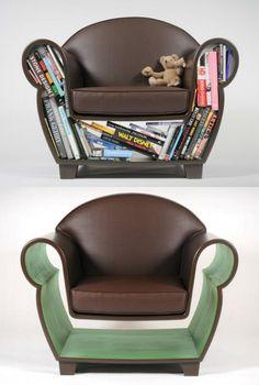 Bookshelf: Book chair