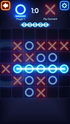 Tic-Tac-Toe Glow on Android Game Review | tCubed