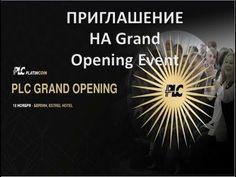 Platincoin.Официальное открытие Платинкоин на Grand Opening Event  PLC Group AG 18 ноября 2017г - YouTube