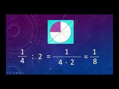Murto- ja sekaluvun jakaminen Math Fractions, Maths, Place Values, Mathematics, School, Youtube, Movie Posters, Math, Film Poster