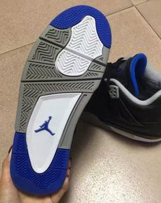 buy popular f994b e1b28 The Air Jordan 4 Soar Blue is featured in its first detailed look. This  model is scheduled to drop at select Jordan Brand stores on May