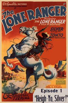 Vintage Movie Poster Fridge Magnet Lone Ranger Silver Tonto masked man cowboy western $3