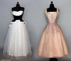 Two Tulle Ballgowns, 1950s, Augusta Auctions, November 12, 2014