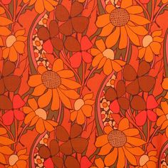 Vintage and vintage inspired online market. Vintage and retro clothes and accessories; vintage retro homewares and art; vintage retro fabrics and textiles. Retro Floral, Vintage Floral, Retro Vintage, Vintage Dress, Retro Baby, Retro Fabric, Vintage Fabrics, Floral Cushions, Pineapple Images