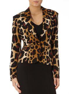 Kardashian animal blazer   #DPKK  #DPVALENTINES  So chic!