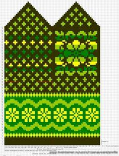 Krāsaini cimdu raksti - Rokdarbu grāmatas un dažādas shēmas - draugiem. Baby Hats Knitting, Fair Isle Knitting, Knitting Charts, Knitting Stitches, Hand Knitting, Knitting Patterns, Knitted Mittens Pattern, Knit Mittens, Knitted Gloves
