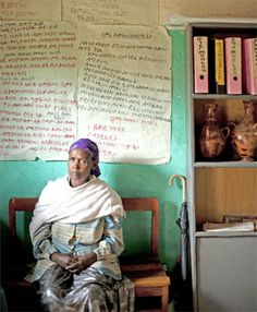 Ethiopia - Nutrame Adebo was about 8 when she was kidnapped, raped, and forced to marry her husband. 69% of marriages in Ethiopia begin with an abduction, but in recent years this is changing. Click through for the inspiring story.