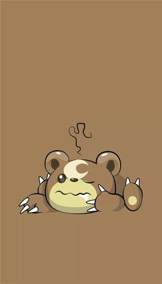 Teddiursa (# - Tedd # Teddiursa (# ◾Typ - Normal ━━━━━â . Pokemon Sprites, Pokemon Go, Pokemon Party, Pokemon Backgrounds, Frozen Fan Art, Cute Pokemon Wallpaper, Pokemon Pictures, Cute Disney, Anime