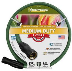 """5/8""""X125' Medium Duty Garden Hose"""