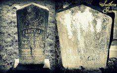 Southern Graves: Nancy J. Harris and Malan J. Doby (Tombstone Tuesday)