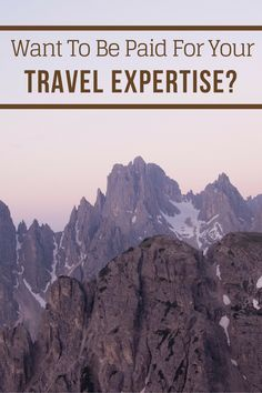 Become a Centrigo travel expert and maximize your travel planning expertise to get paid to help others plan their dream trip! https://www.littlethingstravel.com