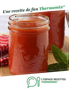 sauce tomate oignon beurre / Tomato sauce with butter and oignon Sauce Tomate Thermomix, Easy Healthy Recipes, Baby Food Recipes, Fermented Bread, Easy Tomato Sauce, How To Make Dough, Marinade Sauce, Cooking Chef, 3 Ingredients