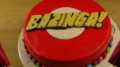 http://www.MsFunnyhome.blogspot.de https://www.facebook.com/msfunnyhome Hier zeige ich eine kurze Anleitung, wie ich eine Torte aus der Big Bang Theory mit S...