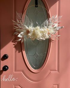 Hosting for the Easter holiday? Try sprucing up your front door with a custom DIY floral wreath. Shop for supplies at Afloral.com and recreate this sweet look by @peonyandhoney. Diy Wreath, Wreaths, Easter Holidays, How To Preserve Flowers, Dried Flowers, Backdrops, Easy Diy, Floral Wreath, Spring