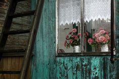 Cottage window, Poland