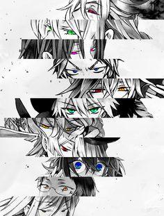 Pandora Hearts Eyes