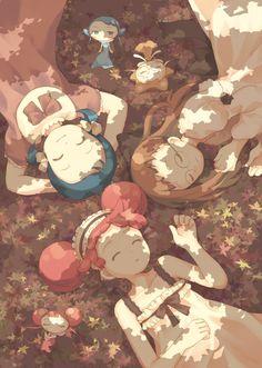 Tags: Anime, Fairy, Shadow, Ojamajo DoReMi, Harukaze Doremi, Senoo Aiko, Fujiwara Hazuki