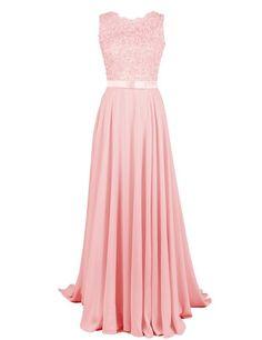Damen chiffon abendkleider lange elegant hochzeitskleid spitze cocktailkleider