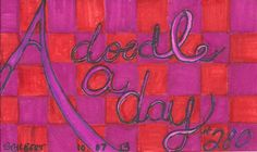 A Doodle A Day #280, ink, 10/7/13