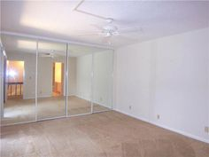 $79,900. Master bedroom features mirrored wall hiding large closet and maximizing light. Also for rent.