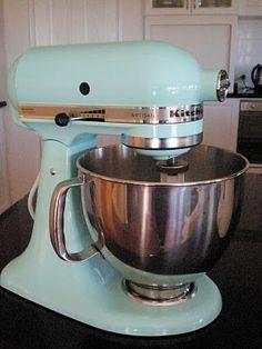 KitchenAid mixer in Ice