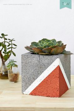 Creative cinder block backyard ideas on a budget 56 Hinterhofideen diy Creative cinder block backyard ideas on a budget 56 - Cinder Blocks Budget Patio, Diy Patio, Backyard Patio, Desert Backyard, Patio Ideas, Modern Backyard, Sloped Backyard, Concrete Crafts, Concrete Planters