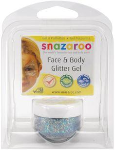 Amazon.com - Snazaroo Face & Body Glitter Gel 12ml/Pkg-Multi-Color -