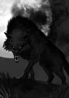 The Lone Wolf by B.Mitkov follow me at https://www.facebook.com/roweyna.universe