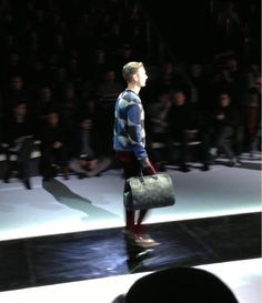Georgio Armani men's f/w 2013