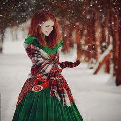 lovely in tartan