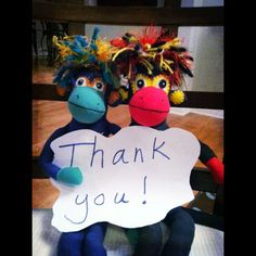 THANK YOU for bringing us to life. We raised the 35k needed to put SMAC! Sock Monkeys Against Cancer into the arms of those with/impacted by cancer for some tangible comfort. Available for sale online very soon. THANK YOU SOOO MUCH. wuv, NoMo and Phoenix. #crowdfunding #cancer #smacancer""