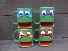 ninja turtles dunk mugs