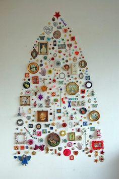 Alternatieve kerstboom.