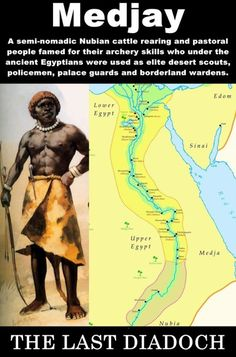 """The Medjay Egyptian mDA.y, """"foreign-peoples"""" The Ancient Egyptians named the region east of the area between the Second Cataract and Third Cataract, Medja and the Nubian people who lived therein, the Medjay (Mazzoi, in later Greek). In Middle Kingdom..."""