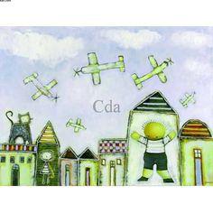 Obras de Arte de Ricardo Ferrari - Ferrari - Catálogo das Artes | Catálogo das Artes Ferrari, Childhood, Painting, Oil On Canvas, Art For Toddlers, Dreams, Antiquities, Brazil, Artworks
