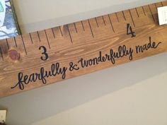 Personalized Growth Chart Ruler   Little River Designs  www.littleriverdesigns.com www.littleriverdesignsga.etsy.com  #littleriverdesigns #growthchart #growthchartruler #personalizedgift #babyshowergift #etsy