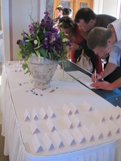 Guest Registry Table