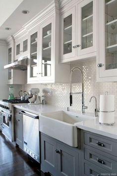 52 best modern farmhouse kitchen cabinets ideas