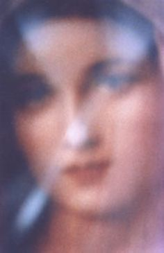 Blessed Virgin Mary from a Medjugorje Post
