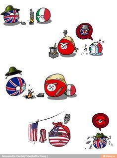 El buen resumen de la derrota de Inglaterra en la II guerra mundial :'v