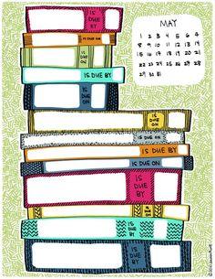 library book todo's