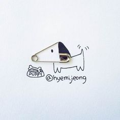 Les adorables créations de l'illustratrice canadienneHyemi Jeong, basée à Toronto, qui détourne les petits objets du quotidien grâce à des illustrations