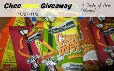 Chee Wees Snacks Giveaway