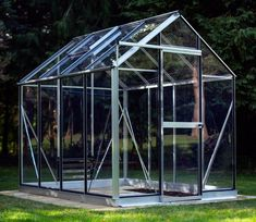 Evika Greenhouse 6 x 8 ft Squirrel Grey