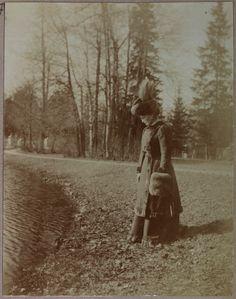 Alexandra in the park, Tsarskoe Selo