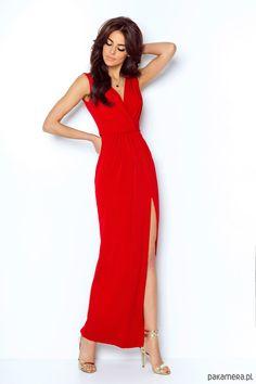 00292f1b5a SUKIENKA DALIA czerwony - FS INSPIRE. Barwa Czerwona. sukienki tanie sklep  online ...
