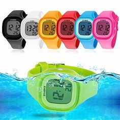 Watches Delicious Synoke Childrens Electronic Watch Back Light Alarm Clock Waterproof Multi Function Gift Kids Watches Age Girl Top Band Strap