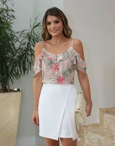 Ideas For Moda Primavera 2019 Juvenil Women's Fashion Dresses, Casual Dresses, Stylish Tops, Western Outfits, Cool Outfits, Cold Shoulder Dress, Bodycon Dress, Womens Fashion, Moda Fashion