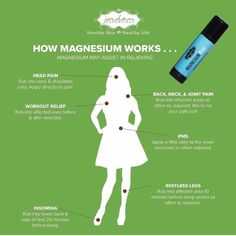 Jordan Essentials - Magnesium Plus Stick Topical Magnesium, Magnesium Benefits, Healthy Skin Care, Healthy Life, Head Pain, Herbal Cure, How To Run Longer, Back Pain, How To Look Better