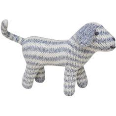 Blabla Kids Rattle Dog Grey ($20) via Polyvore